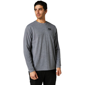Fox Tread Lightly Maglietta Tech maniche lunghe Uomo, grigio